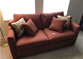 JUST REDUCED TO $50!  Sofa sleeper in great condition.                                                                                                                                                                                                                                                                 All items MUST be picked up on March 21st or 22nd only.  If you are unable to do this please email rcullen@virtualparalegalny.com PRIOR to purchasing. Sale has a house full of items available for sale, you are welcome to shop when you pick up your purchased items.  Lots of home decor, 2 closets FULL of ladies clothes and shoes, all like new and name brand, garage stuff, kitchen stuff etc.                                                                                                          GREAT PRICES!