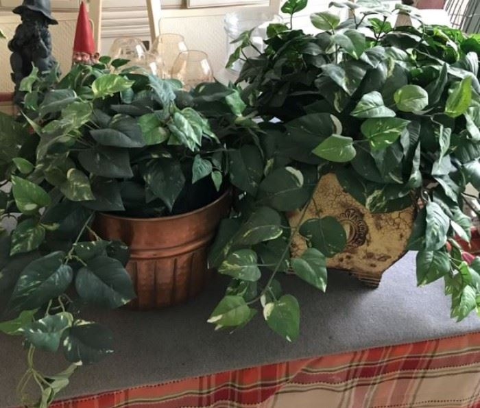 $20.  Faux plants.   All items MUST be picked up on March 21st or 22nd only.  If you are unable to do this please email rcullen@virtualparalegalny.com PRIOR to purchasing. Sale has a house full of items available for sale, you are welcome to shop when you pick up your purchased items.  Lots of home decor, 2 closets FULL of ladies clothes and shoes, all like new and name brand, garage stuff, kitchen stuff etc. GREAT PRICES!