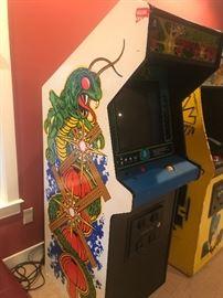 Centipede arcade machine