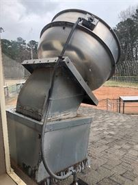COMMERCIAL CONCESSION STAND VENTILATION HOOD