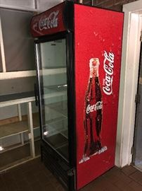 COCA COLA BRANDED COMMERCIAL BEVERAGE COOLERS