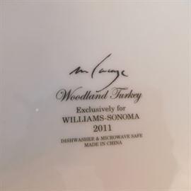 Williams- Sonoma plates