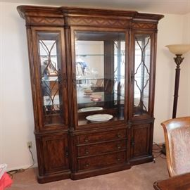 Thomasville Ernest Hemingway collection china cabinet in like new condition