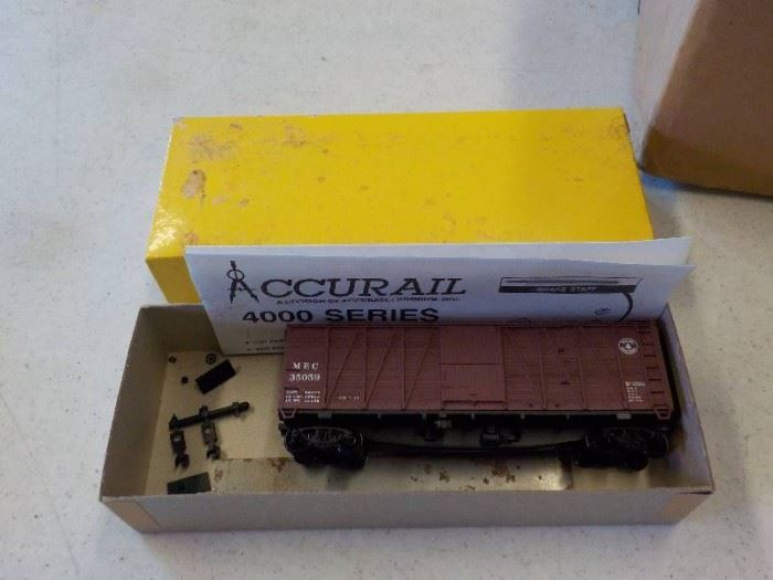 accurial maine centeral kit HO scale