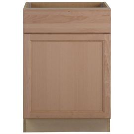 Assembled 24x34.5x24 in. Easthaven Base Cabinet wi ....