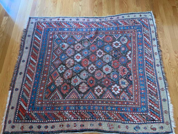 "98. Antique Russian Wool Rug c.1900's (3' x 4'6"")"