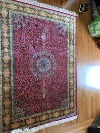 "95. Serah Iranian Wool Rug (4'7"" x 5'3"")"