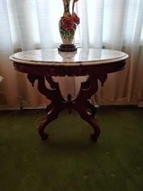 Eastlake Marble Top Table