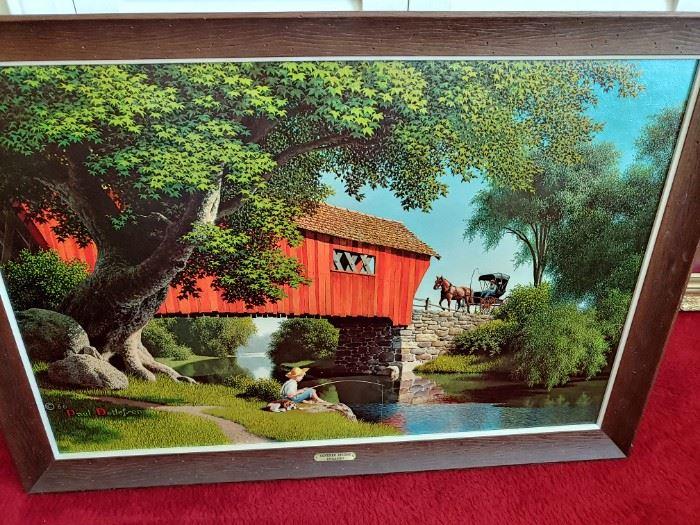 Covered Bridge Print