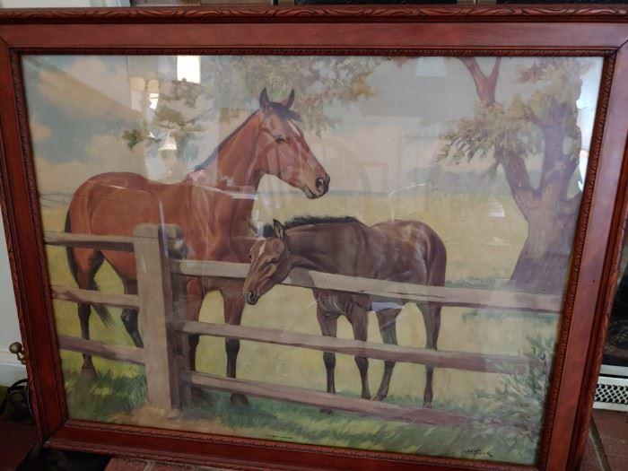 Horse Themed Print