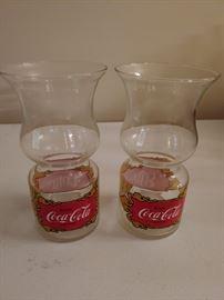 Vintage Coca Cola Glasses