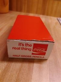 Box of 72 Coca Cola Pencils