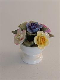 Aynsley Porcelain Flowers