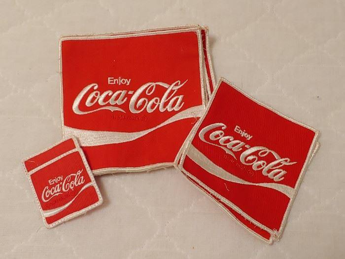 Coca Cola Patches...3 Sizes