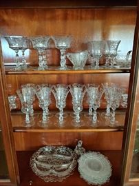 Cambridge Chantilly Stemware and Serving Pieces