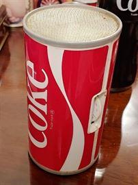 Coke Figural Can Radio