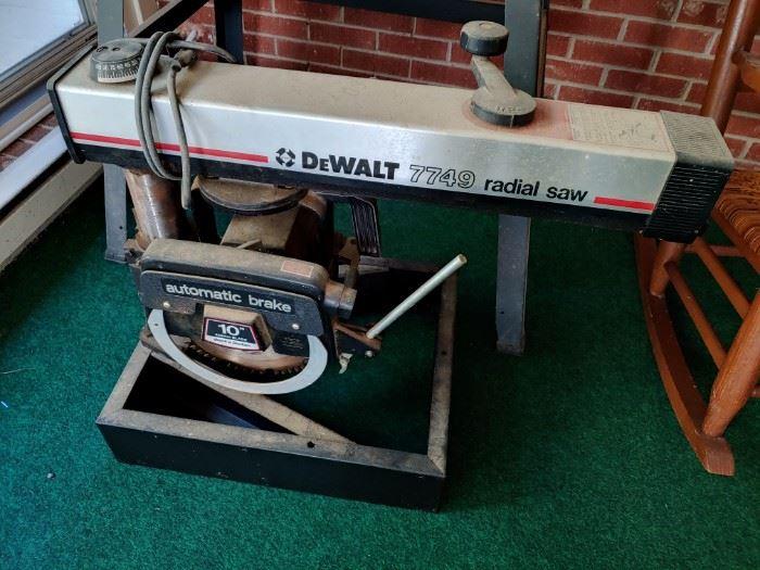 DeWalt Radial Saw