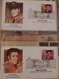 Elvis Presley First Day Covers