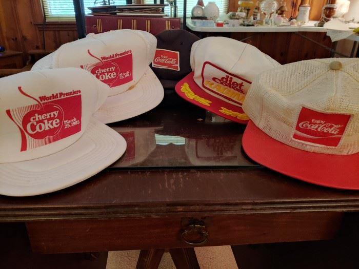 Coca Cola Advertising Hats
