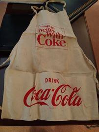 Vintage Coca Cola Apron