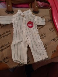 Buddy Lee Doll Coca Cola Uniform