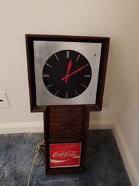 Vintage Coca Cola Wall Clock