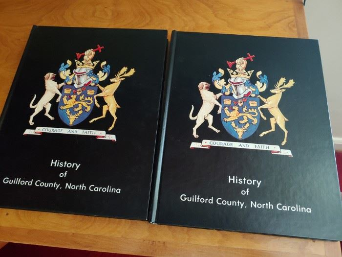 History of Guilford County Books