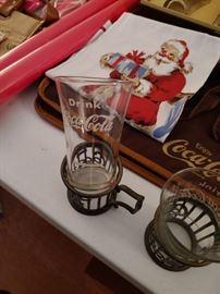 Coca Cola Glasses and Holders