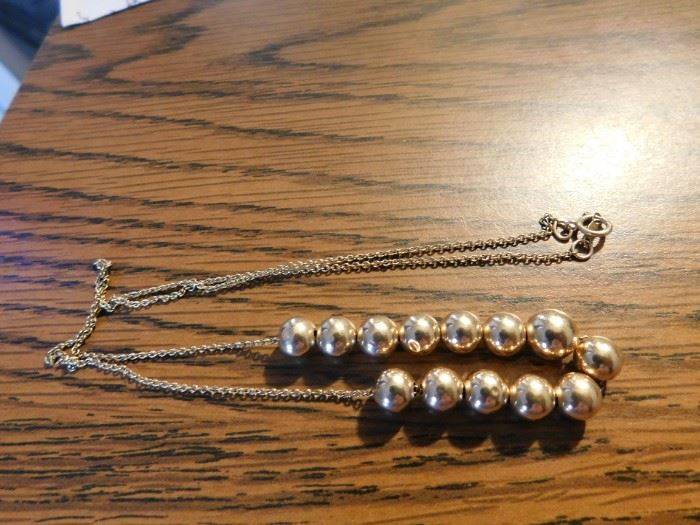 Gold Add-a-Bead Necklace
