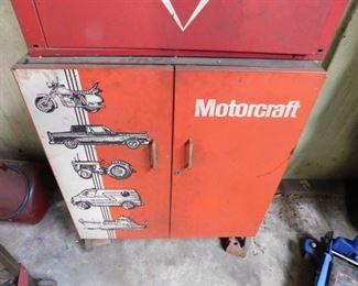 Motorcraft Metal Storage Cabinet