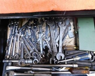 Lots of Assorted Wrenches