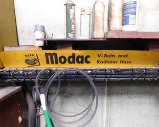 NAPA Modac Radiator Hose Display