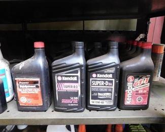 Quarts of Oil
