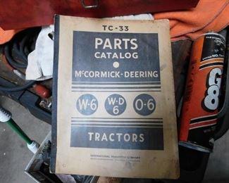 McCormick Deering Parts Catalog(TC-33)