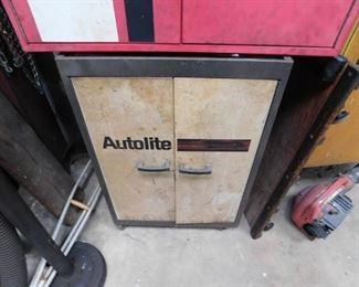 Metal Autolite Storage Cabinet