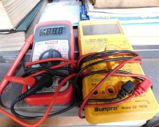 Digital Volt Meters
