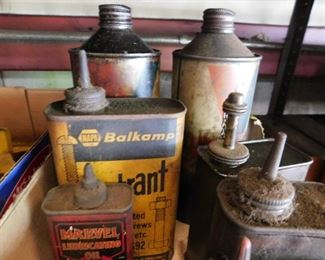 Old Oil Cans