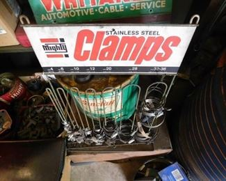 Mighty Clamps Store Counter Display