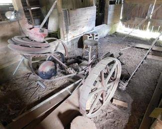 Old McCormick Deering Sickle Mower