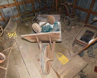 Primitive Wheelbarrow