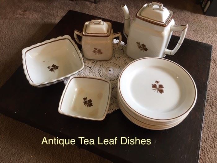 Tea Leaf Ironstone