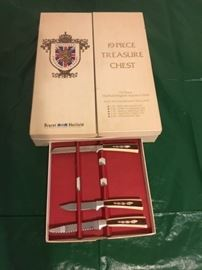 Sheffield English Cutlery, original box/pullout tray