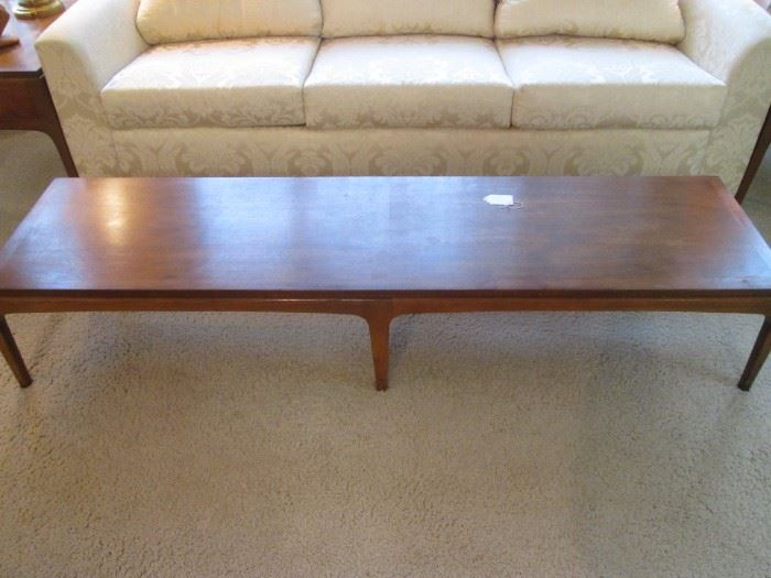"MCM Coffee Table by Lane, 70"" X 18"""