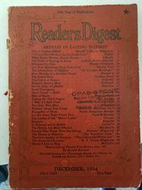 1934 Readers Digest