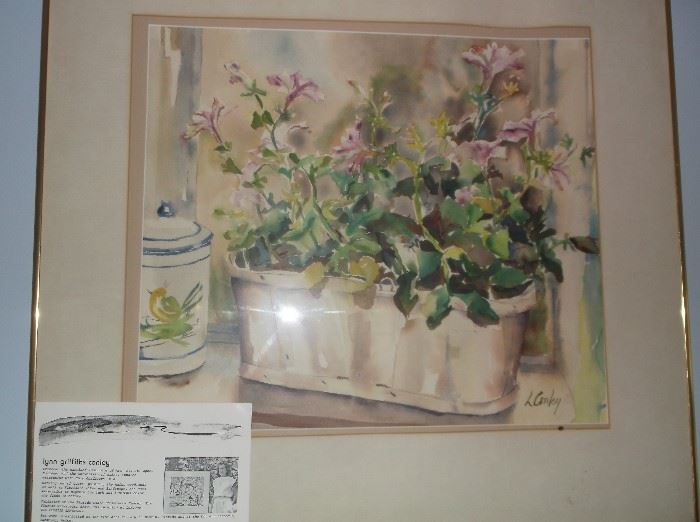 Water color by Lynn Griffiths Conley