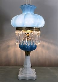 Blue Hurricane Lamp https://ctbids.com/#!/description/share/118725