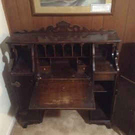 Antique Captain's Desk