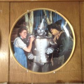 Wizard of Oz Collection plates