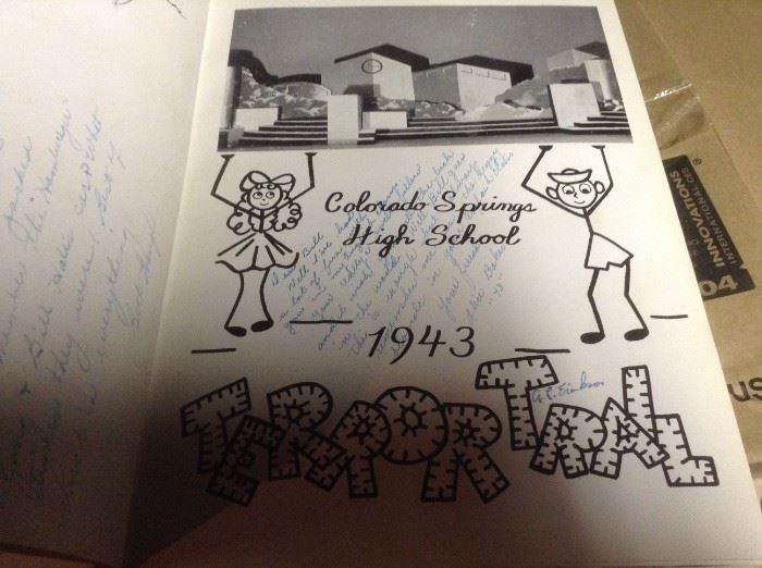 Vintage Yearbooks 40's 50's