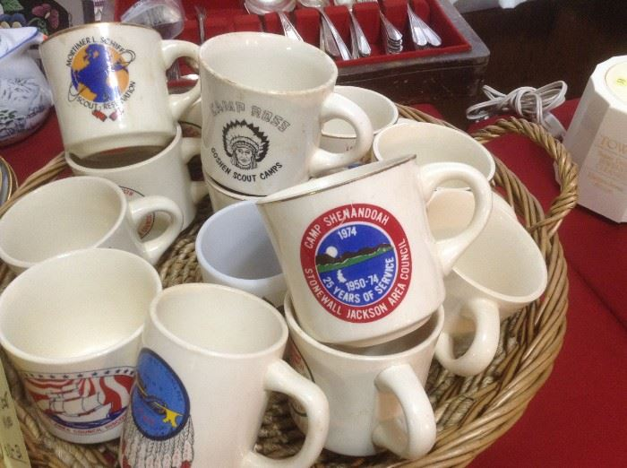 Boy Scouts of America Vintage mugs